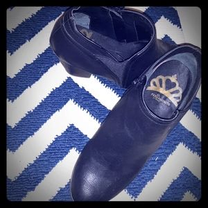 Black booties brand fergalicious